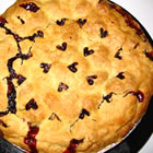 Baked Fresh Cherry Pie picture