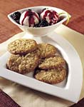 almond crunch cookies picture