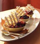 almond meringues picture