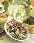 seafood salad with collard greens slaw picture