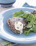 grilled tuna with herbed aioli picture