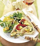 summer vegetable tart picture