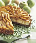 apple-almond cheesecake picture