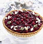 cranberry-lime tart picture