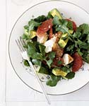 lobster, avocado, and grapefruit salad picture