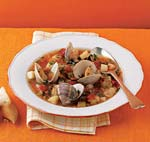 manhattan clam chowder picture