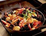 spanish noodle paella picture