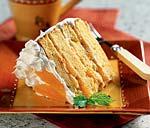 orange-almond cream cake picture