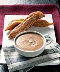churros with spiced hot chocolate picture