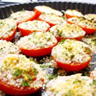 baked tomatoes oregano picture