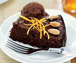 flourless chocolate-orange almond cake picture