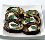 grilled eggplant with lebneh picture