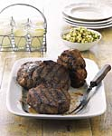 grilled monster pork chops with tomatillo and green apple sauce picture