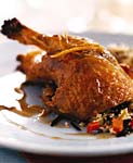 glazed duck with clementine sauce picture