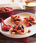 caponata with fennel, olives, and raisins picture
