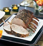 herb-brined pork prime rib roast picture