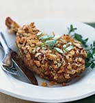 veal chops with creole mustard crust picture