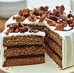chocolate-peanut butter cake with cream cheese and butterfinger frosting picture