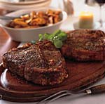spice roasted porterhouse steaks picture