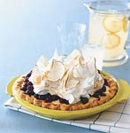 lemon meringue blueberry pie picture