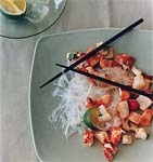 lobster salad with glass noodles and jicama picture