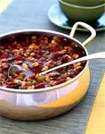 chicken and white bean chili picture