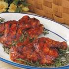 barbecued chicken picture