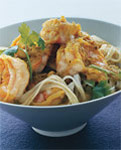 green curry shrimp with noodles picture