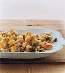 polenta and sausage stuffing picture