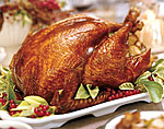 cider-brined-and-glazed turkey picture