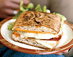 grilled turkey cuban sandwiches picture