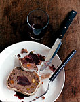 duck terrine with wine-glazed shallots picture