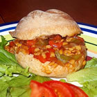 barbeque tempeh sandwiches picture