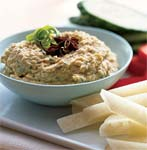 ginger-garlic hummus picture