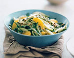 cactus, chayote, and green-apple salad picture