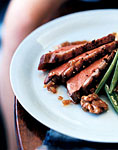 duck with walnut sherry vinaigrette picture