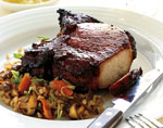 hoisin-marinated pork chops picture