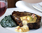 kansas city steaks with lobster bearnaise sauce picture