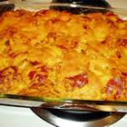 basic baked spaghetti picture