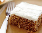 parsnip spice cake with ginger cream cheese frosting picture