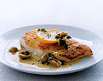 fish fillets with olives and oregano picture