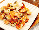 peel-and-eat hot pepper shrimp picture