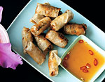 crab-and-pork spring rolls picture