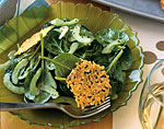 spinach and celery salad with lemon vinaigrette picture