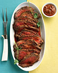 harissa-crusted tri-tip roast picture