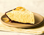 lemon chiffon pie with gingersnap crust picture