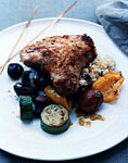 grilled breaded pork chops picture