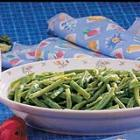 basil green beans picture