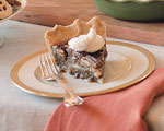 pecan-bourbon pie picture