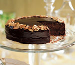double-chocolate financier cake picture